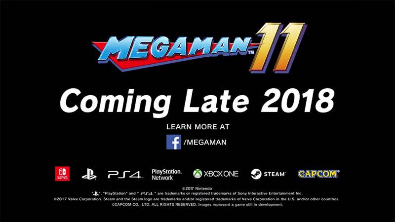 Mega Man 11 Ankündigung