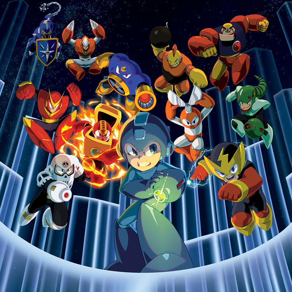 Mega Man Legacy Collection für Switch – Release!