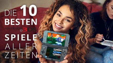 Die besten 3DS Spiele aller Zeiten