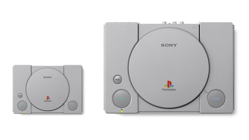 PS1 Mini Classic Wann