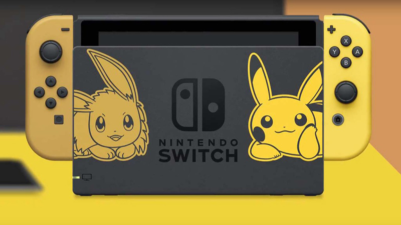 Switch Pikachu & Evoli Edition