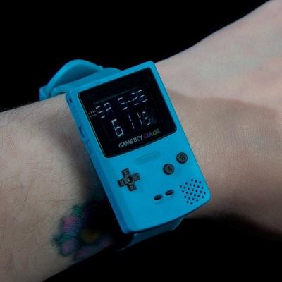 Nintendo: Neue GameBoy Color Watch