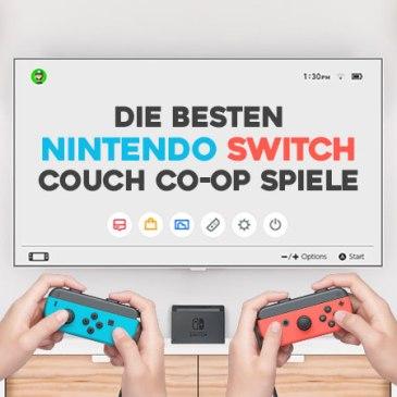 Die besten Switch Couch Co-Op Spiele