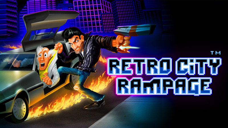 games im retro look