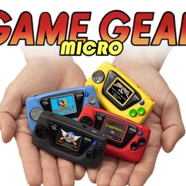 Game Gear Micro: Segas neue Mini-Handheld-Konsole