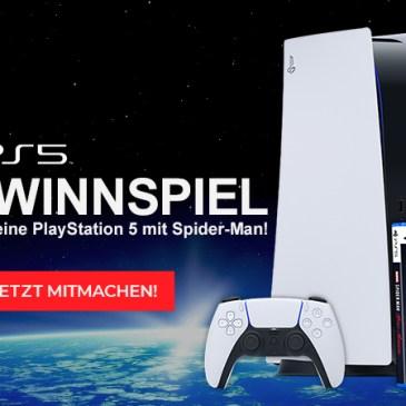 PS5 Gewinnspiel: Jetzt mitmachen und gewinnen!
