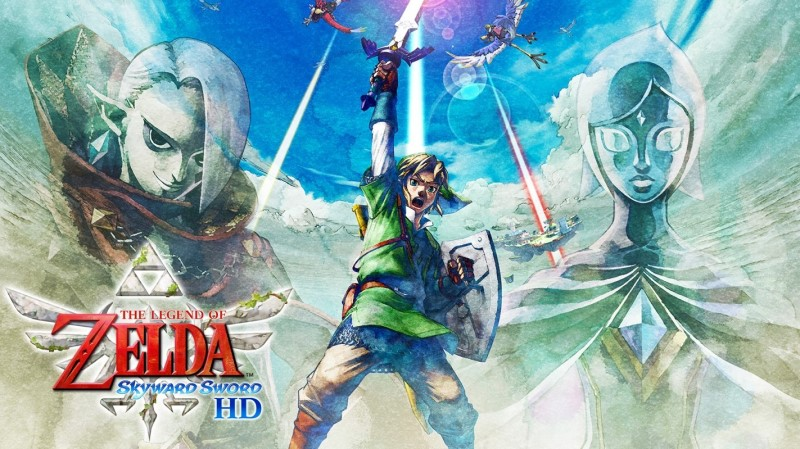 Zelda Skyward Sword HD Switch