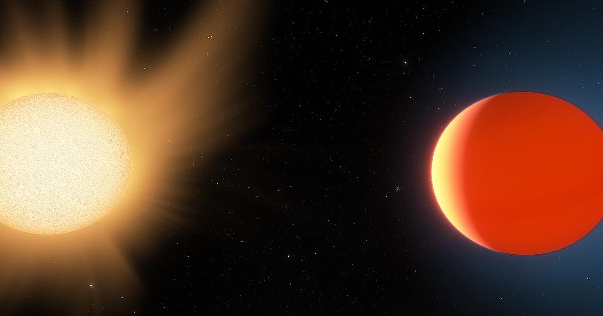 """Tech :  Une nouvelle étude détaille l'atmosphère sur """" Neptune chaude """" à 260 années-lumière  , avis"""