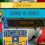 Chivas Guadalajara Vs Tigres Uanl En Vivo Score Liga Mx