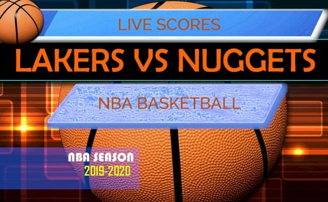 Lakers Vs Nuggets Score Nba Basketball Results Tonight