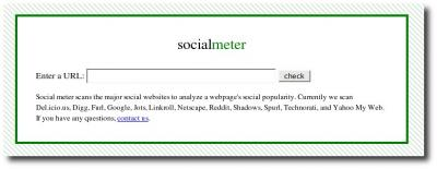 Startseite socialmeter