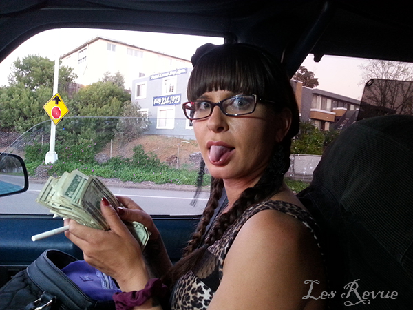 Strippers love their cash.