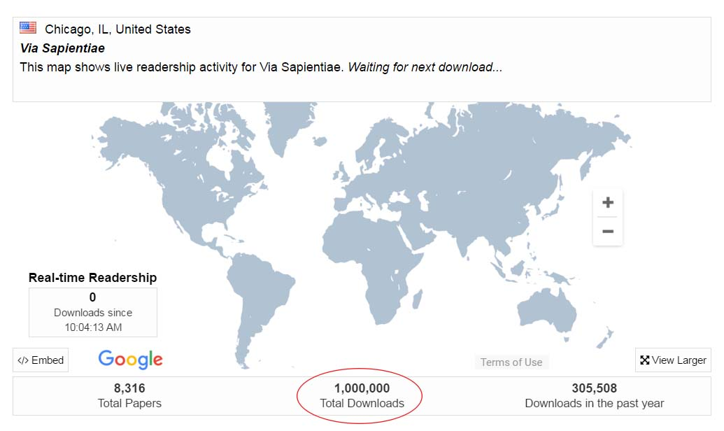 One Million Downloads in Via
