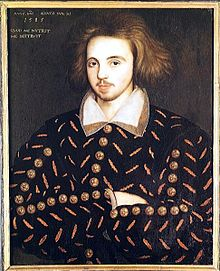 Putative portrait of Christopher Marlowe (Corpus Christi College, Cambridge).