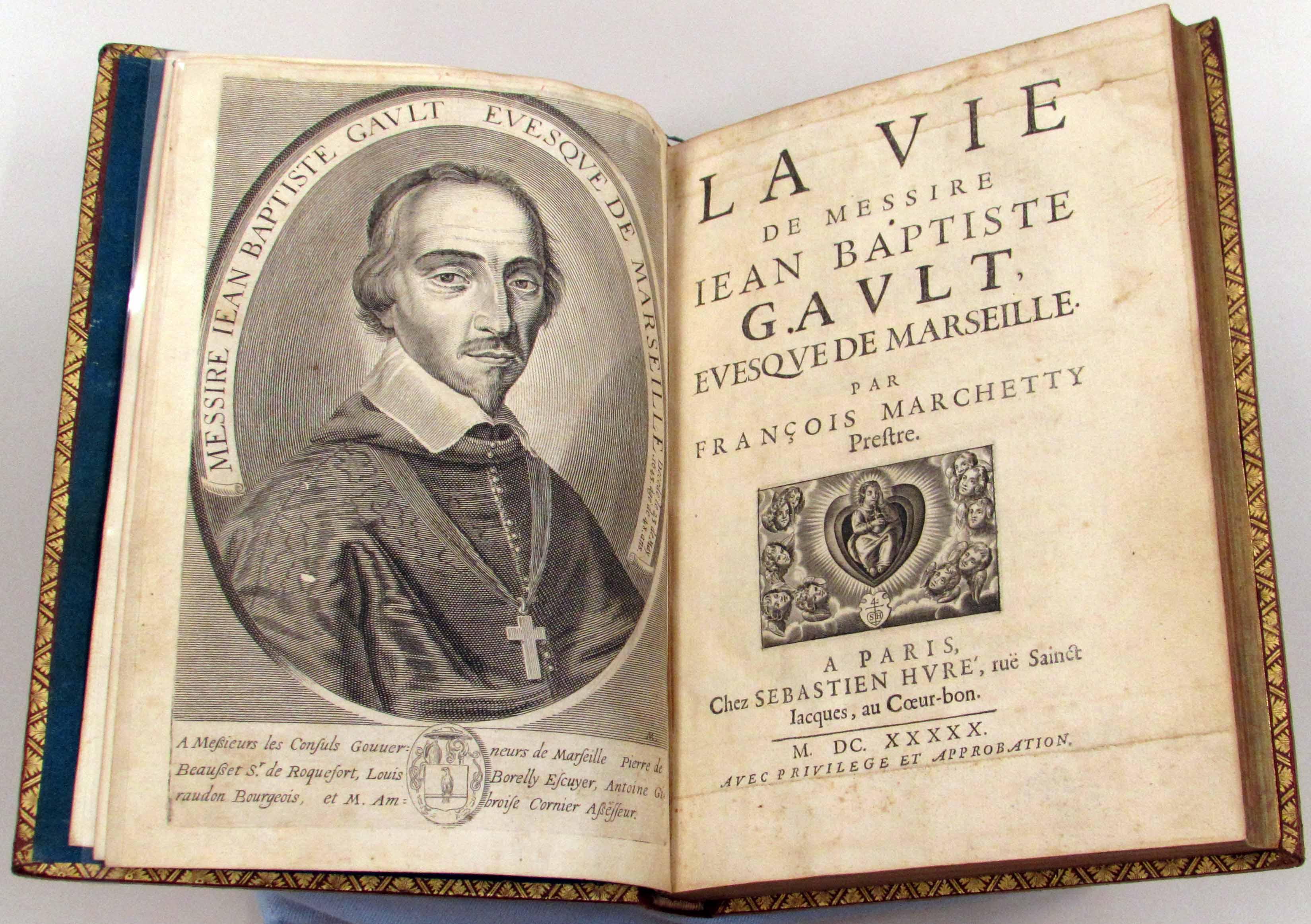 Saint Vincent's Reading List LXIII: Jean-Baptiste Gault, Bishop of Marseille