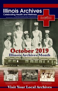 Illinois Archives Month poster