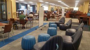 John T. Richardson Library, 2nd floor