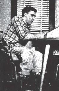 Edward Fiori, Jr. at home