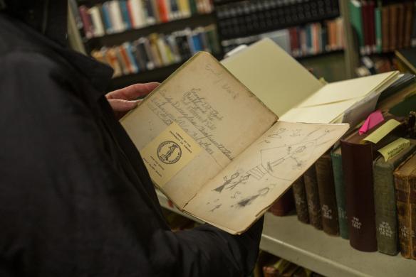Marginalia in a volume from the shelves of UVA's Alderman Library