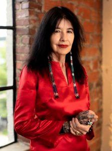Portrait of Joy Harjo, U.S. Poet Laureate.