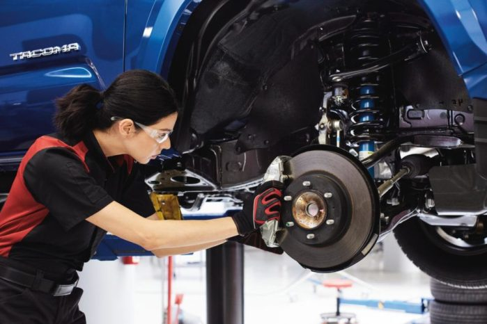 Toyota Tacoma Brake Service Technician