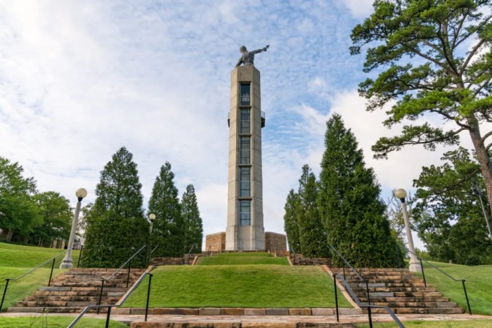 Vulcan Park Observation Tower and Statue