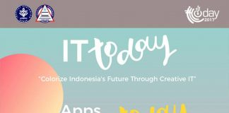 "IT Today IPB 2017 ""Colorize Indonesia's Future Through Creative IT"""