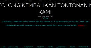 Situs KPI Diretas Hacker