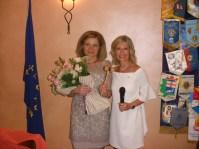 Le due Presidenti (uscente e entrante) Emanuela Pastorelli e Alessandra Rosso al passaggio delle consegne