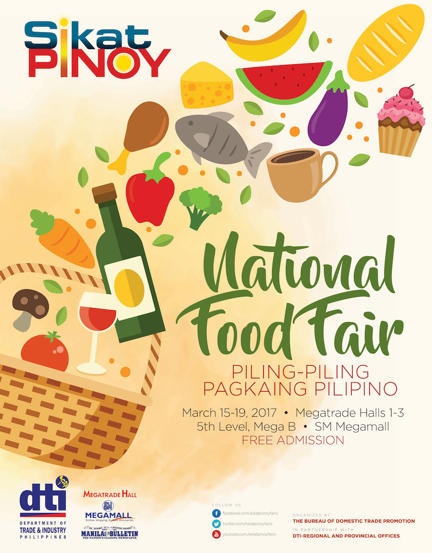 2017 Sikat Pinoy National Food Fair