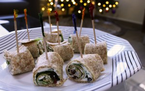 Open Kitchen: Cranberry Arugula Pinwheels