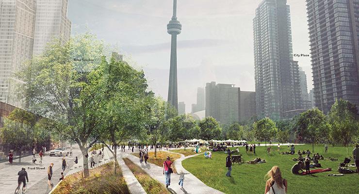 Preliminary rendering (courtesy City of Toronto Newsroom).