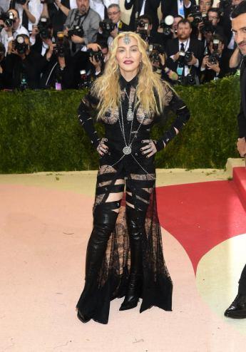 Madonna at the MET Costume Institute Benefit Gala