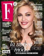 Madonna on the cover of F