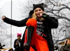 Madonna at the Women's March in Washington D.C.