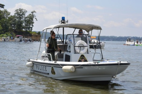 NRP on patrol on the Magothy River