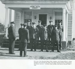 Photo of first academy class
