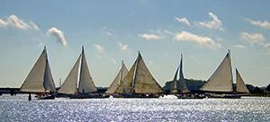 Skipjacks on the Water, photo by Linda Walls