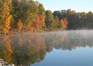 Clopper Lake, Seneca Creek State Park, photo by Dave Powell