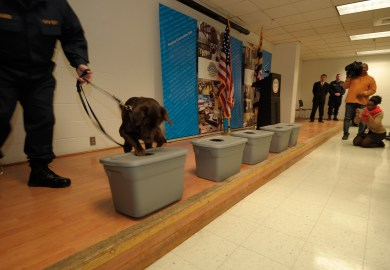Nationally Respected Dpscs K9 Unit Paid A Visit To The Maryland State