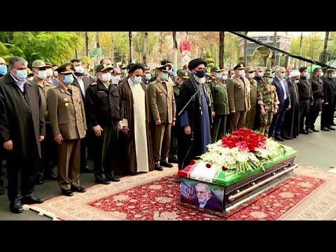 Ιράν: Με τιμές μάρτυρα η κηδεία του δολοφονηθέντος επιστήμονα  …