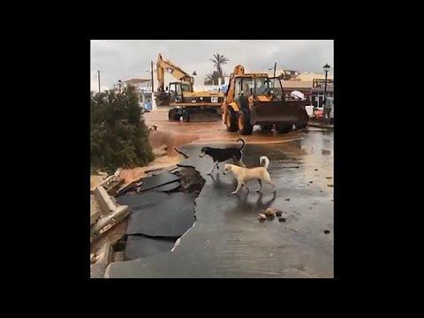 Κυβερνητικό κλίμάκιο στην Κρήτη για να αποτιμήσει τις ζημιές της κακοκαιρίας…