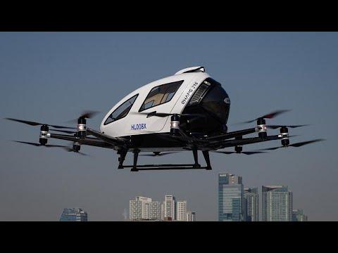 Σεούλ: Στον αέρα το ταξί drone!