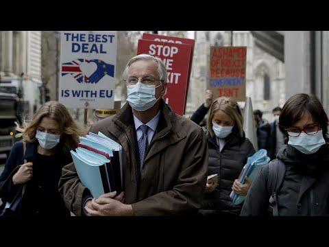 Brexit: Σκληρές διαπραγματεύσεις Λονδίνου και Βρυξελλών για την εμπορική συμφωνία…