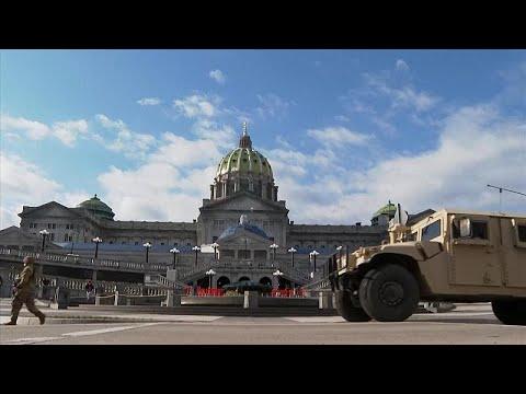 ΗΠΑ: Δρακόντεια μέτρα ασφαλείας εν όψει της ορκωμοσίας Μπάιντεν…