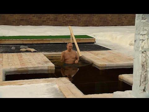 Ο Βλαντίμιρ Πούτιν βούτηξε στα παγωμένα νερά για να τιμήσει τα Θεοφάνεια…