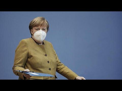 «Προσοχή στις μεταλλάξεις – Τον Σεπτέμβριο θα έχει ολοκληρωθεί ο εμβολιασμός» λέει η Μέρκελ…