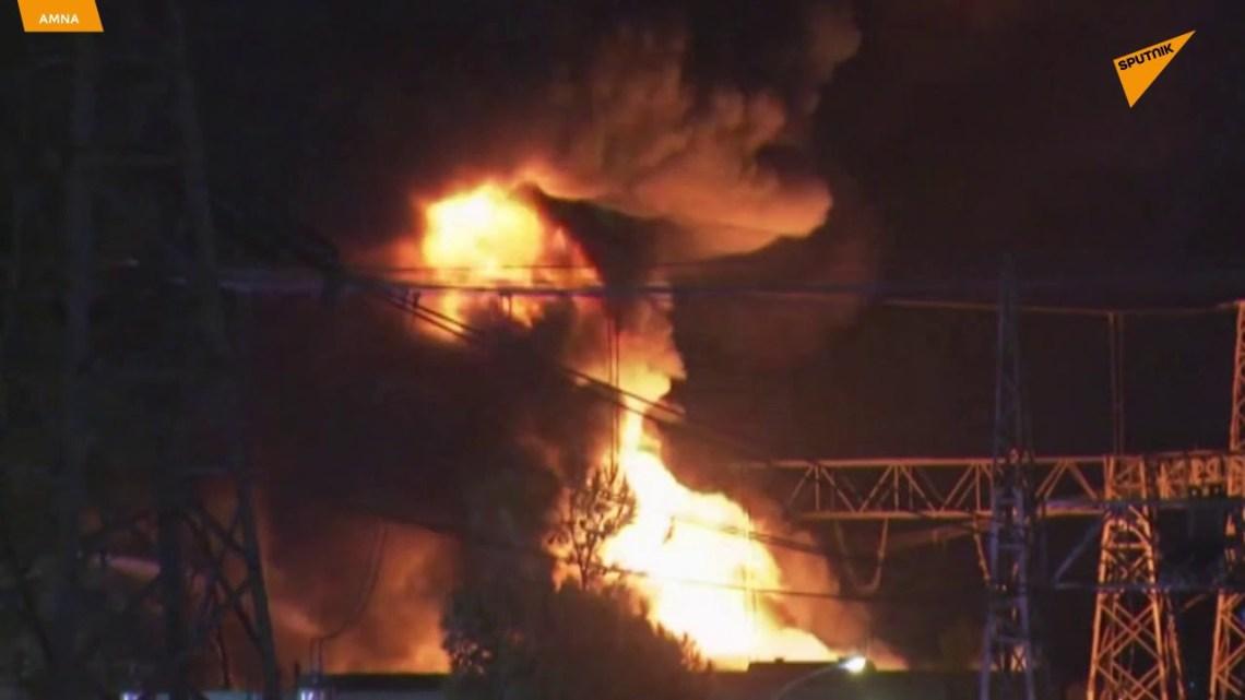 ΑΔΜΗΕ: Βραχυκύκλωμα η αιτία της έκρηξης στον υποσταθμό του Ασπροπύργου