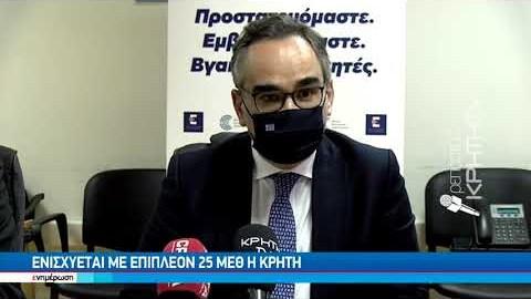Διήμερη επίσκεψη του αν.Υπουργού υγείας στην Κρήτη