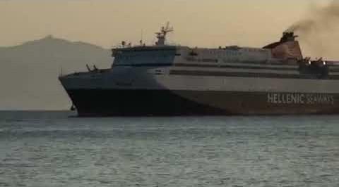 Νάξος: Ενας γίγαντας (Αριάδνη) στο λιμάνι μας